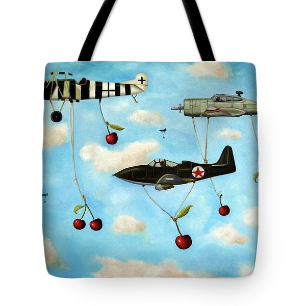 The Amazing Race 5 Tote Bag by Leah Saulnier The Painting Maniac