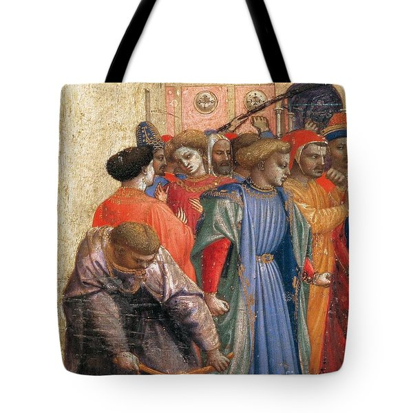 The Annunciation Tote Bag by Fra Angelico