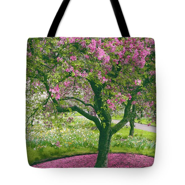 The Apple Doesn't Fall Far From The Tree Tote Bag by Jessica Jenney