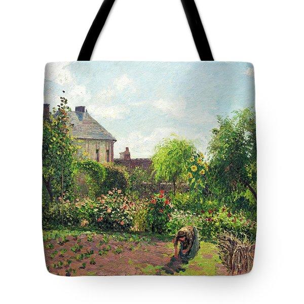 The Artist's Garden At Eragny Tote Bag
