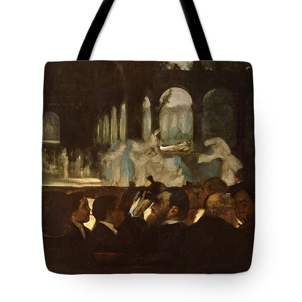 Tote Bag featuring the painting The Ballet From Robert Le Diable by Edgar Degas