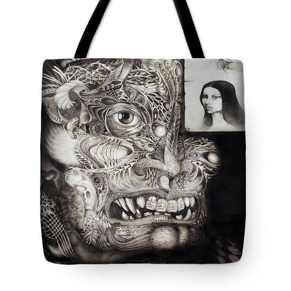 The Beast Of Babylon Tote Bag