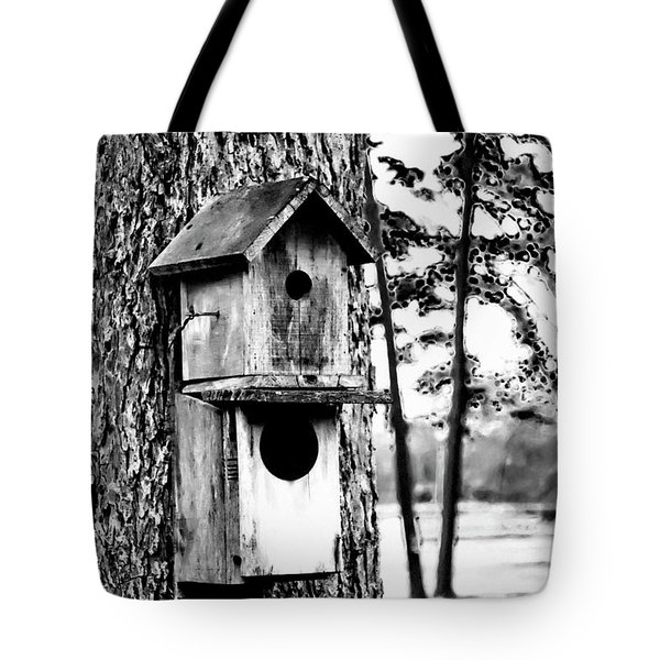 The Bird Feeder Tote Bag