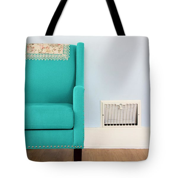 The Blue Chair Tote Bag
