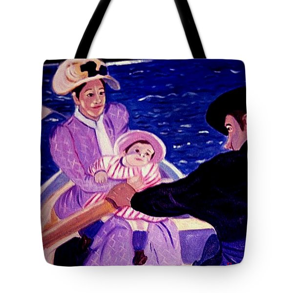 The Boat Trip Tote Bag