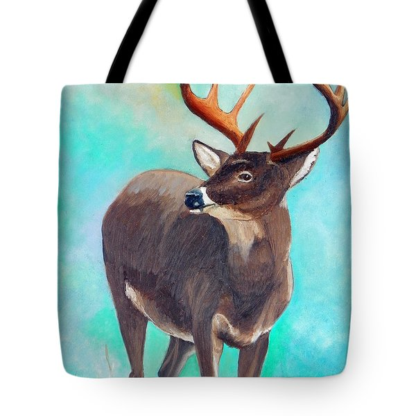 the Buck Stops Here Tote Bag by Sherril Porter