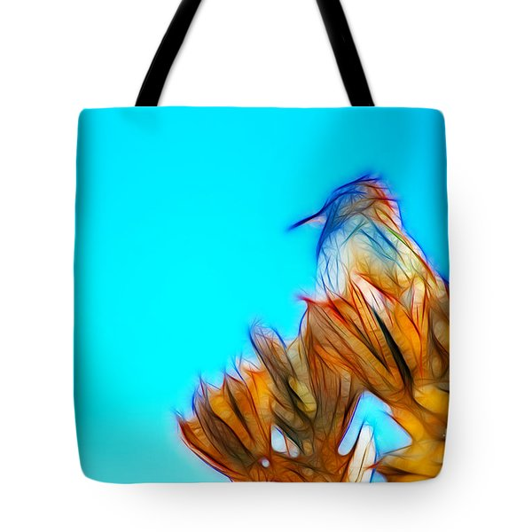 The Cactus Wren Tote Bag by Donna Greene