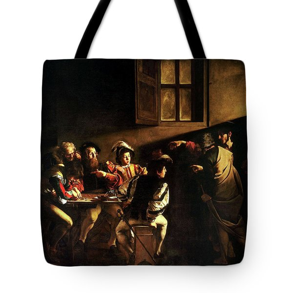 The Calling Of St. Matthew Tote Bag