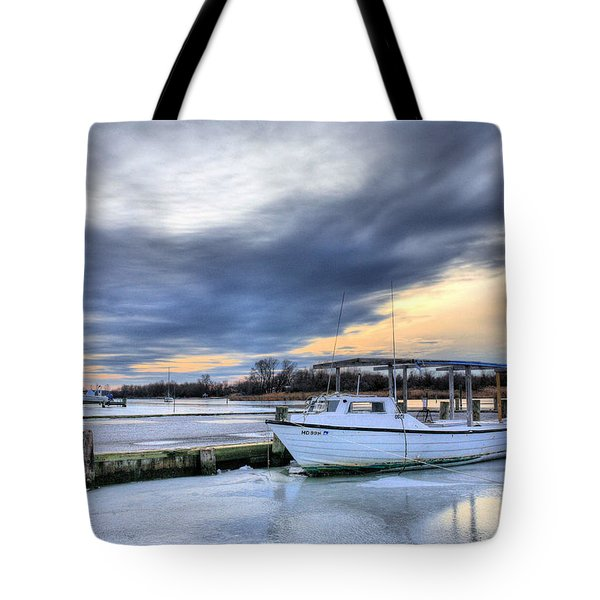 The Calm Before Tote Bag by JC Findley