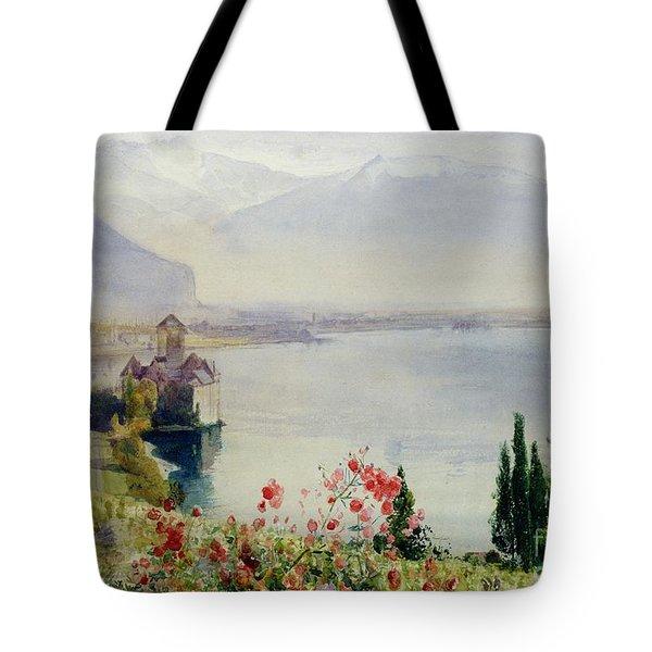 The Castle At Chillon Tote Bag