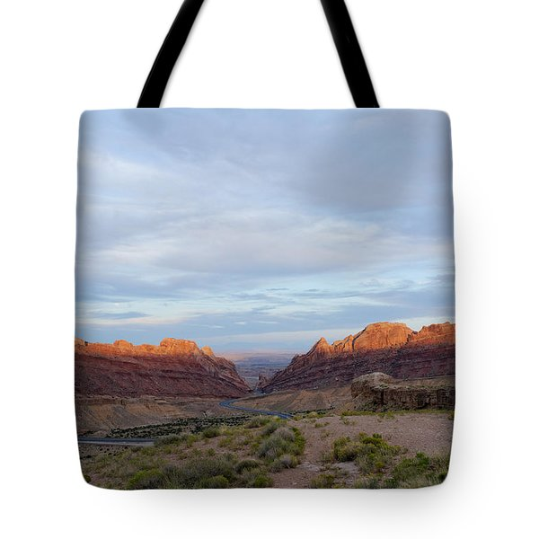 The Castles Near Green River Utah Tote Bag