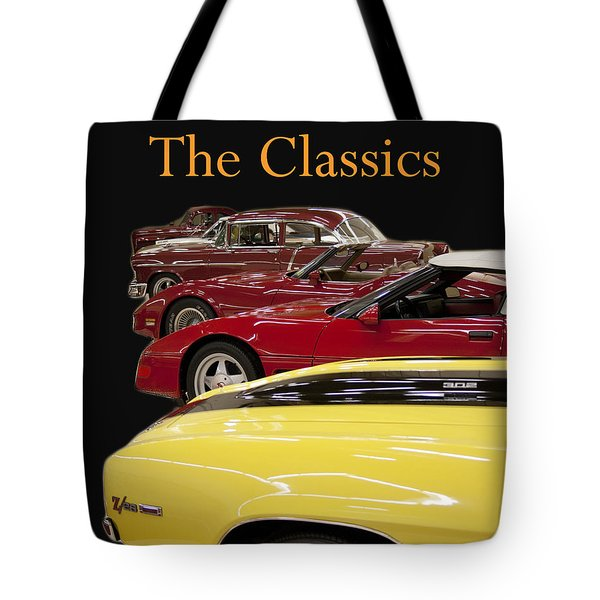 Tote Bag featuring the photograph The Classics by B Wayne Mullins