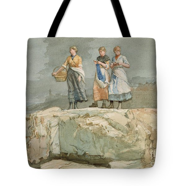 The Cliffs Tote Bag