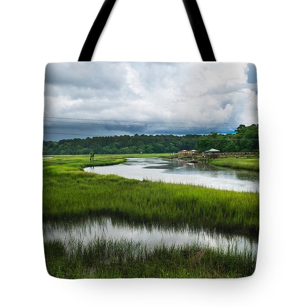 The Coming Storm Tote Bag