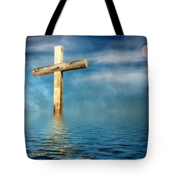 The Cross Tote Bag by Joyce Dickens