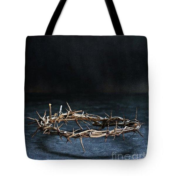 The Crown Of Jesus Christ Tote Bag