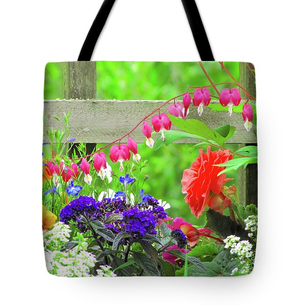 The Dance Of Spring Tote Bag