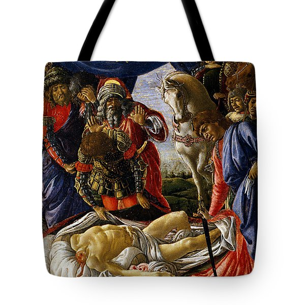 The Discovery Of Holofernes' Corpse Judith Returns From The Enemy Camp At Bethulia Tote Bag