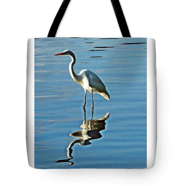The Egret Tote Bag