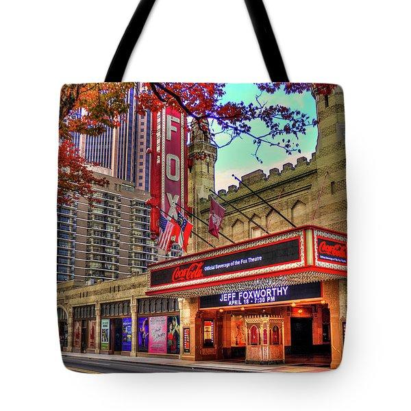 The Fabulous Fox Theatre Atlanta Georgia Art Tote Bag by Reid Callaway