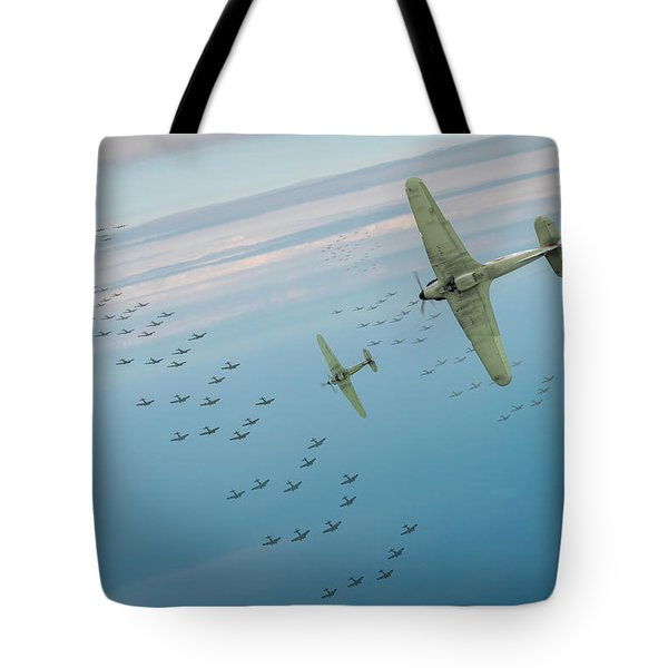 Tote Bag featuring the photograph The Few by Gary Eason