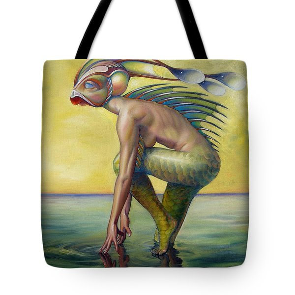 The Finandromorph Tote Bag by Patrick Anthony Pierson