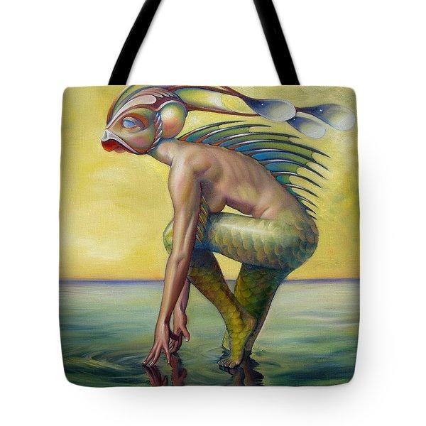The Finandromorph Tote Bag