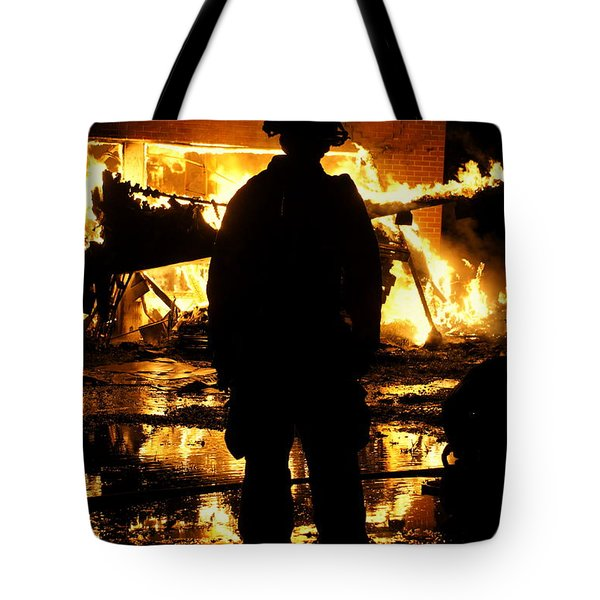 The Fireman Tote Bag