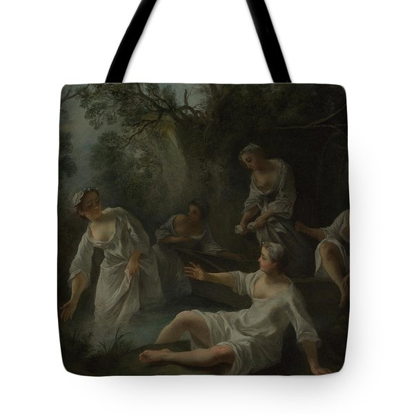The Four Times Of Day   Evening Tote Bag
