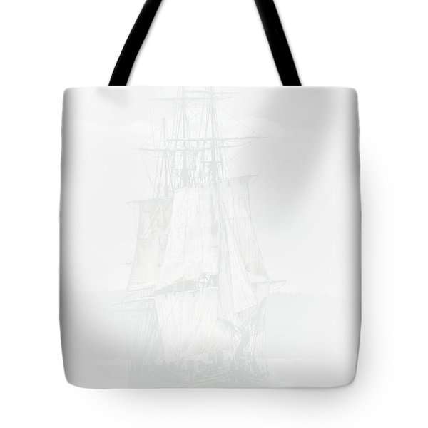 The Ghost Ship Tote Bag by David Patterson