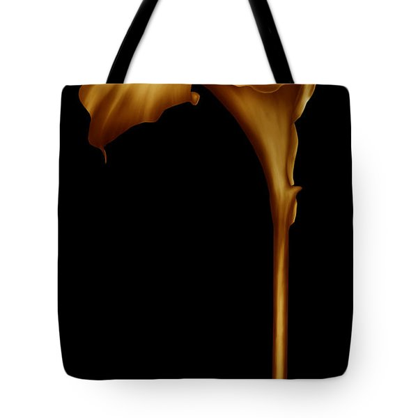 The Golden Calla Lilly Tote Bag
