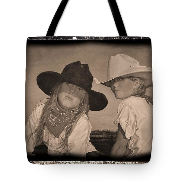 The Good And The Bad Tote Bag