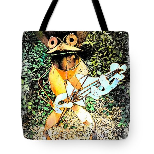 The Guitar Man Tote Bag