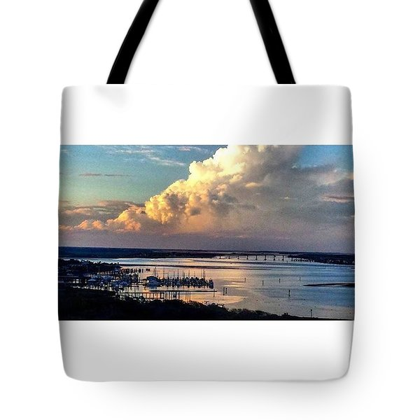 Jehovah's Creation Tote Bag by Janel Cortez