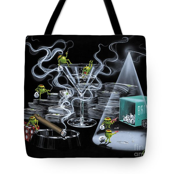 The Heist Tote Bag