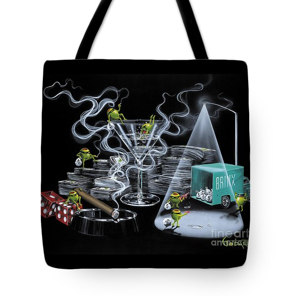 The Heist Tote Bag by Michael Godard