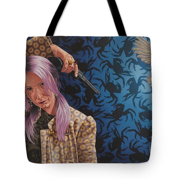 The Hijacker Tote Bag
