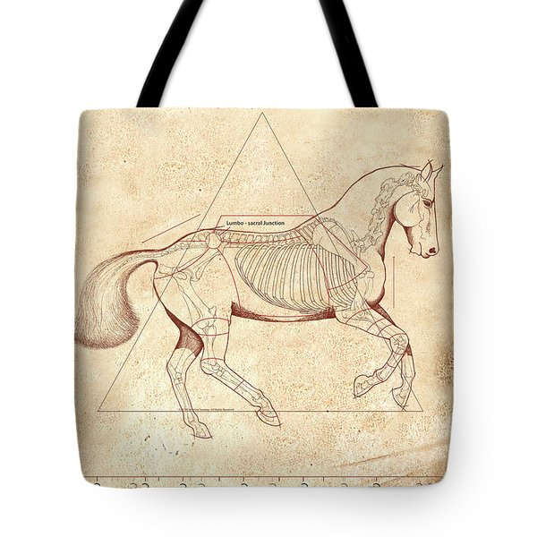 The Horse's Canter Revealed Tote Bag