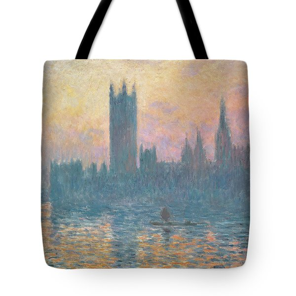 The Houses Of Parliament  Sunset Tote Bag