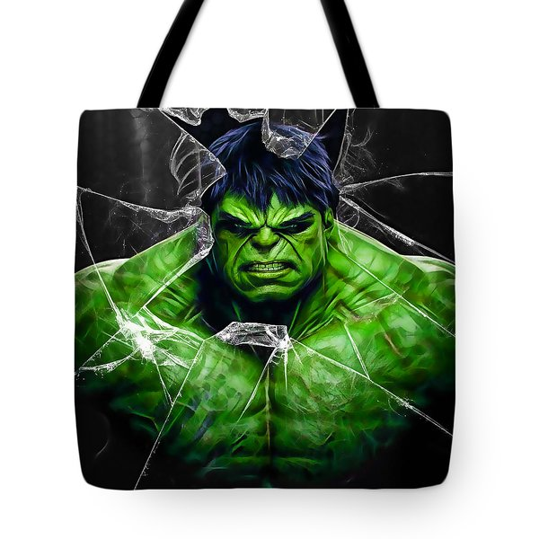 The Incredible Hulk Collection Tote Bag