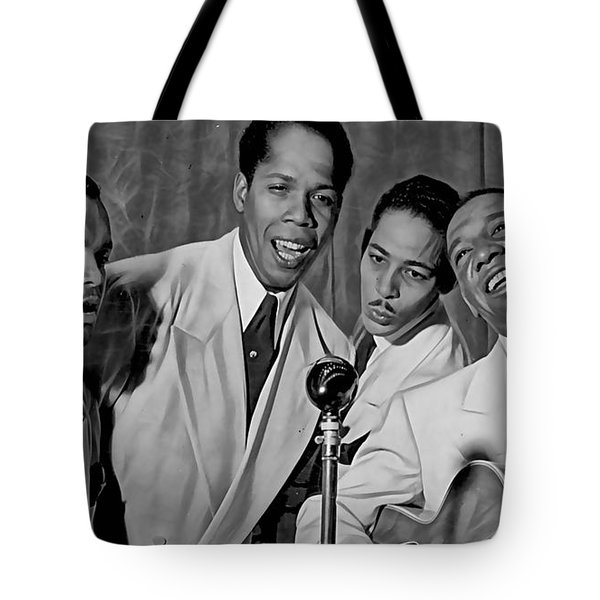 The Ink Spots Collection Tote Bag by Marvin Blaine