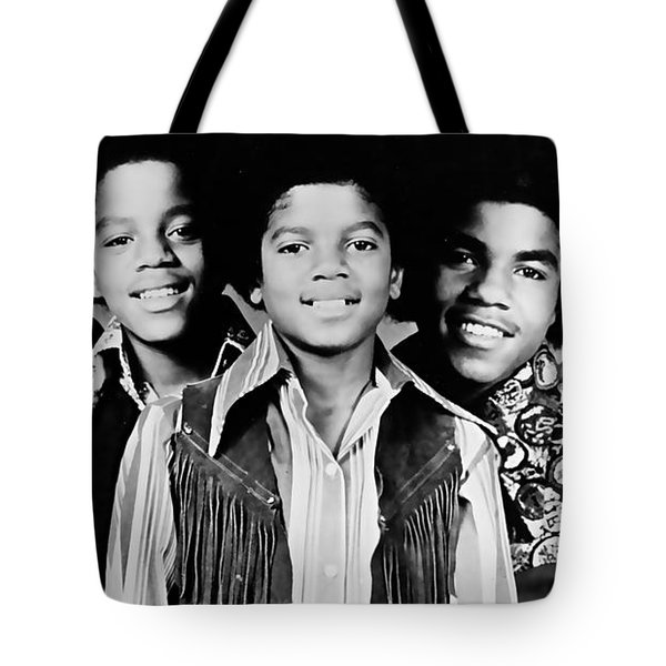 The Jackson 5 Collection Tote Bag by Marvin Blaine
