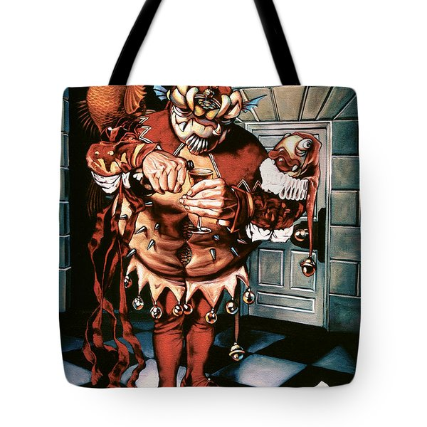 The Jesterook Tote Bag by Patrick Anthony Pierson