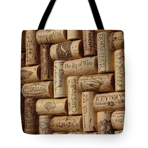 The Joy Of Wine Tote Bag by Anthony Jones