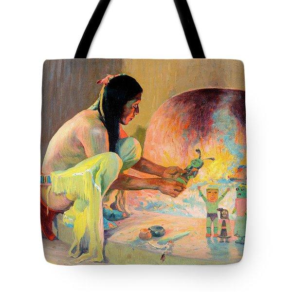The Kachina Maker Tote Bag