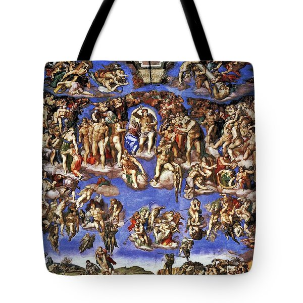 The Last Judgement Tote Bag