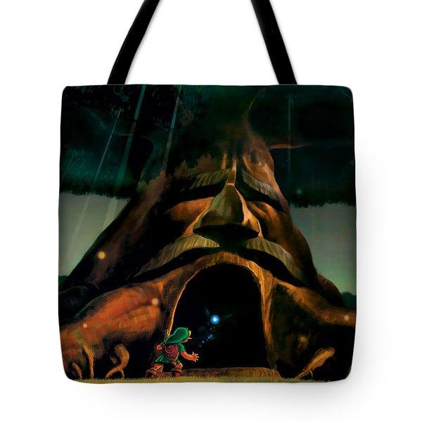 The Legend Of Zelda Ocarina Of Time Tote Bag