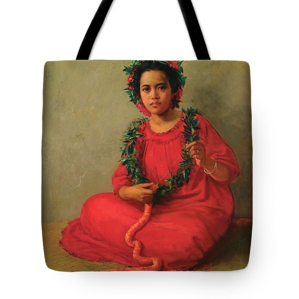 The Lei Maker  Tote Bag