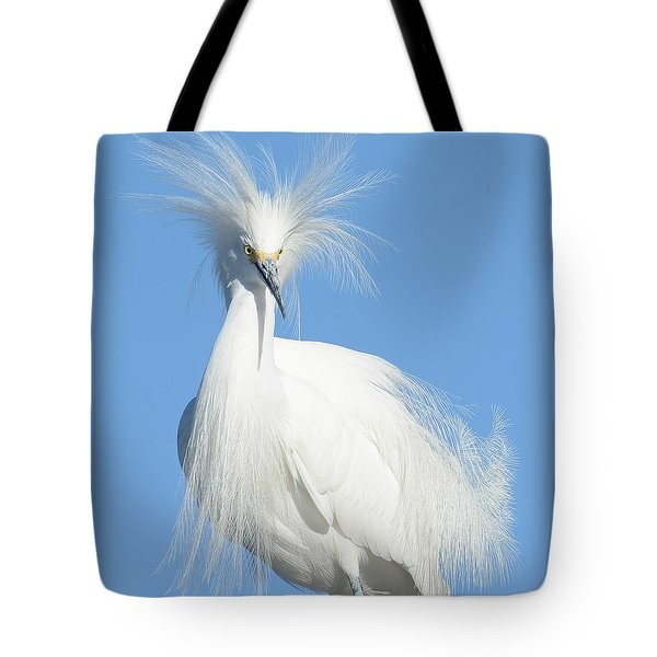 The Look Tote Bag by Fraida Gutovich