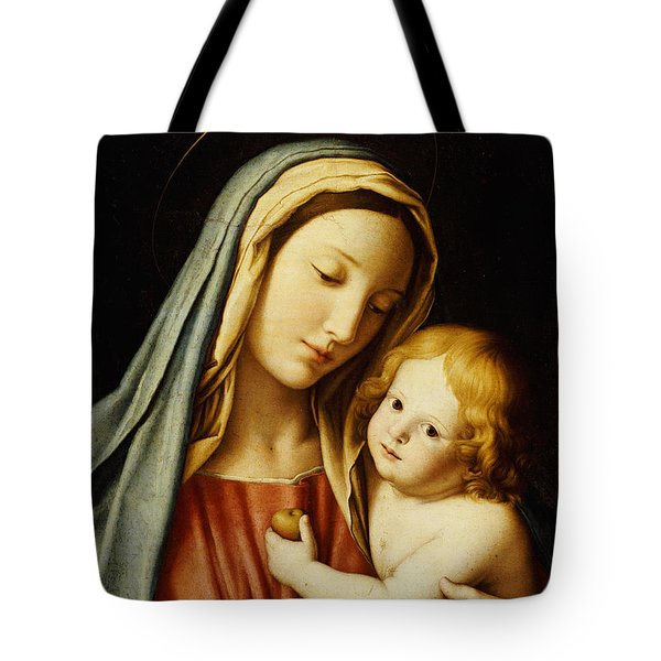 The Madonna And Child Tote Bag by Il Sassoferrato